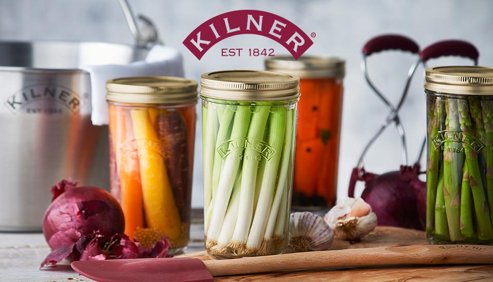 Kilner Wide Mouth Preserve Jars