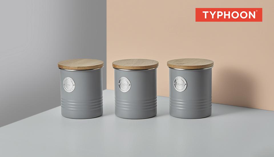 Typhoon Living Storage Gray