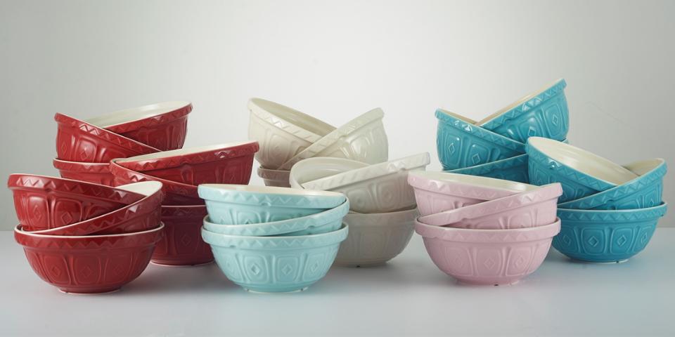 Color Mix Mixing Bowls
