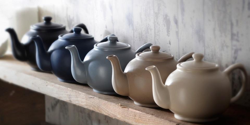 Neutral Teapot