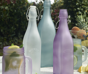 Frosted Clip Top Bottles