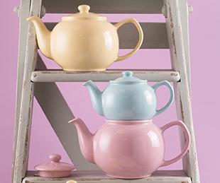 Pastel Teapot