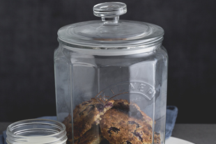 Push Top Storage Jars