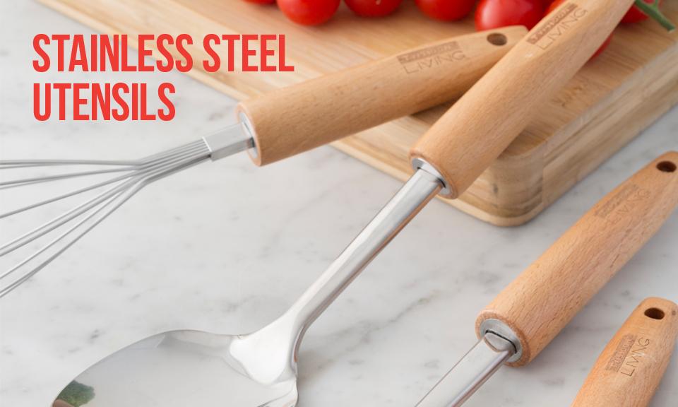 Living Stainless Steel Utensils