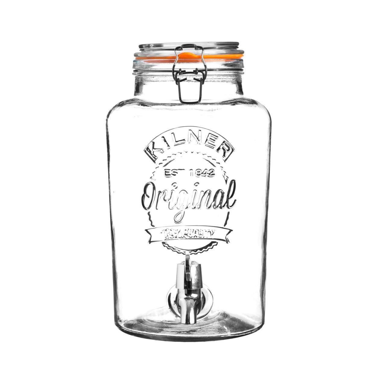 CLIP TOP DRINKS DISPENSER 1.3 GALLON