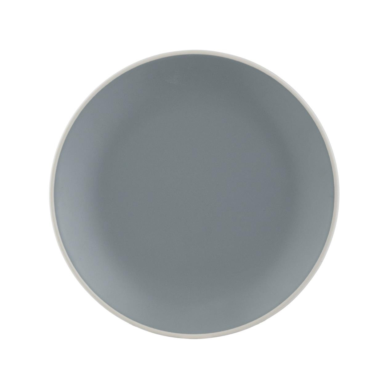 CLASSIC COLLECTION GREY DINNER PLATE