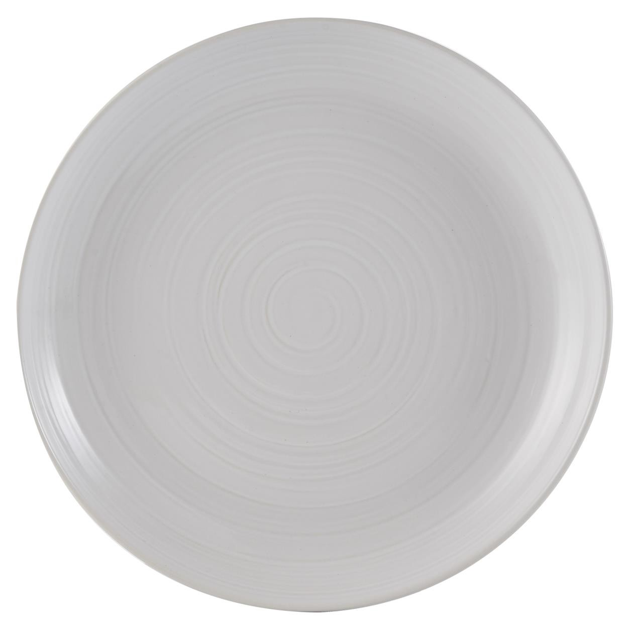 WILLIAM MASON DINNER PLATE WHITE