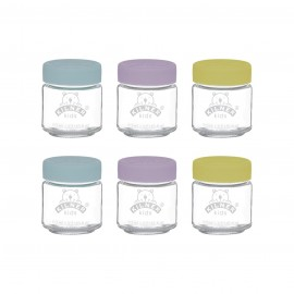 SET OF 6 KIDS JARS 3.7 US FL OZ