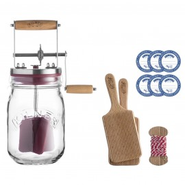 KILNER BUTTER CHURNER SET