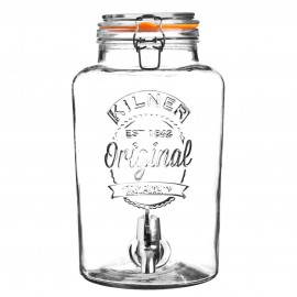 CLIP TOP DRINKS DISPENSER 2.1 GALLON