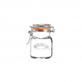 CLIP TOP SQUARE SPICE JAR 2 FL OZ