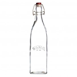SQUARE CLIP TOP BOTTLE 34 FL OZ