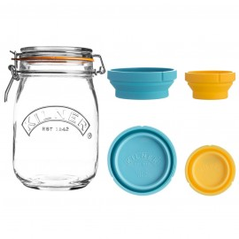 MEASURE AND STORE JAR SET 34 FL OZ