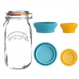 MEASURE AND STORE JAR SET 68 FL OZ