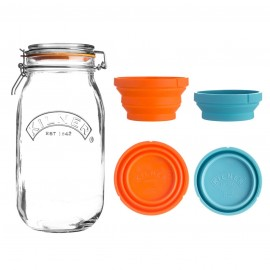 MEASURE AND STORE JAR SET 102 FL OZ