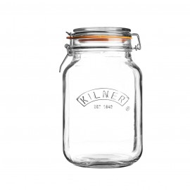 CLIP TOP SQUARE JAR 51 FL OZ