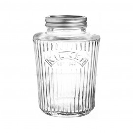 VINTAGE CANNING JAR 34 FL OZ