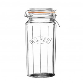 FACETTED CLIP TOP JAR 63.4 FL OZ