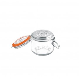 CLIP TOP JAR WITH GRATER 17 FL OZ