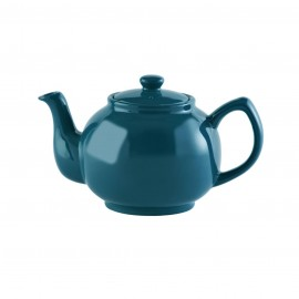TEAL BLUE 6 CUP TEAPOT 37 FL OZ