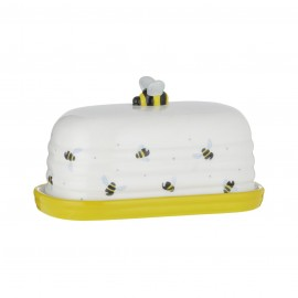 SWEET BEE BUTTER DISH