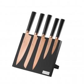 TITAN COPPER 6 PCE CUTLERY BLOCK GIFTBOX
