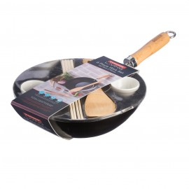 "LIVING 6PC 11"" WOK SET"