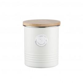 LIVING TEA CANISTER CREAM 33.8 FL OZ/1 QT
