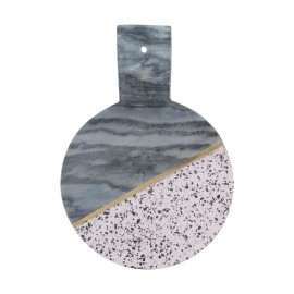 ELEMENTS TERRAZZO/MARBLE RND 25CM HDLED BOARD