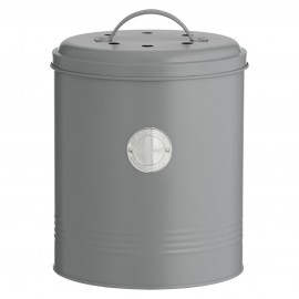 LIVING GRAY COMPOST CADDY
