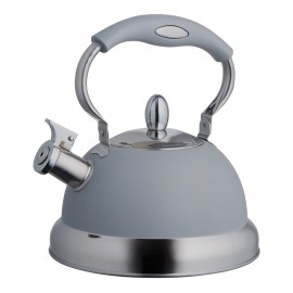 LIVING GRAY STOVE TOP KETTLE 85 FL OZ