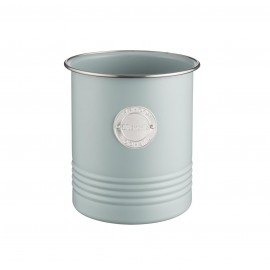 LIVING BLUE UTENSIL POT