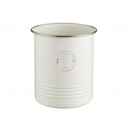 LIVING CREAM UTENSIL POT