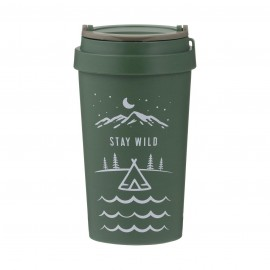 PURE STAY WILD W' FIBRE TRAVEL MUG 12.8 FL OZ