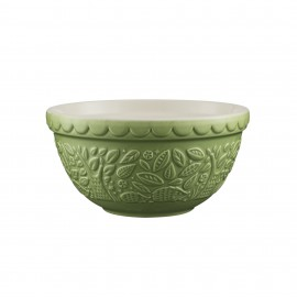 IN THE FOREST S30 GREEN MIXING BOWL 8.25""