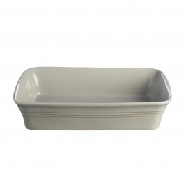 CLASSIC KITCHEN GRAY RECTANGULAR DISH 12.25""