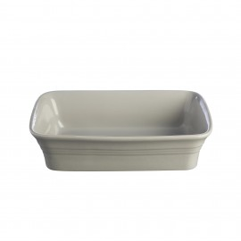 CLASSIC KITCHEN GRAY RECTANGULAR DISH 10.25""