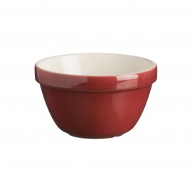 """COLOR MIX BURGUNDY ALL PURPOSE BOWL 6.25"""""""