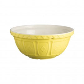 """COLOR MIX BRIGHT YELLOW MIXING BOWL 11.5"""""""