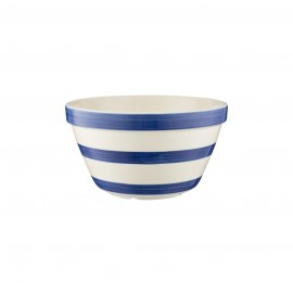 "NAVY STRIPES S30 (6.75"") ALL PURPOSE BOWL"