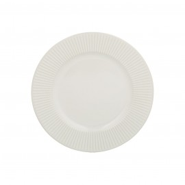 LINEAR SIDE PLATE WHITE 8.2""