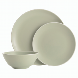 CLASSIC COLLECTION GREEN 12 PIECE DINNERWARE SET