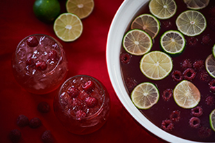 Berry Apple Cider Punch
