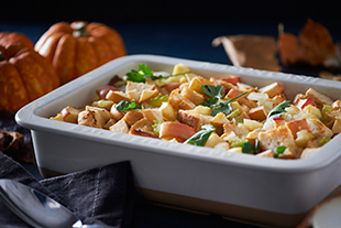 Caramelized Onion and Apple Stuffing