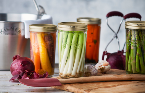 Kilner Wide Mouth Preserve Jars