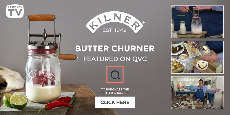 Kilner Butter Churner on QVC