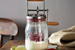 How To Make Homemade Butter Using A Kilner Butter Churner